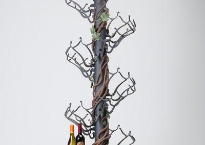 European Iron Works, Wrought Iron Wine RackJean Pierre