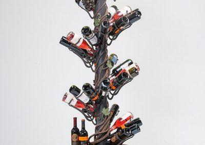 European Iron Works Wine Rack